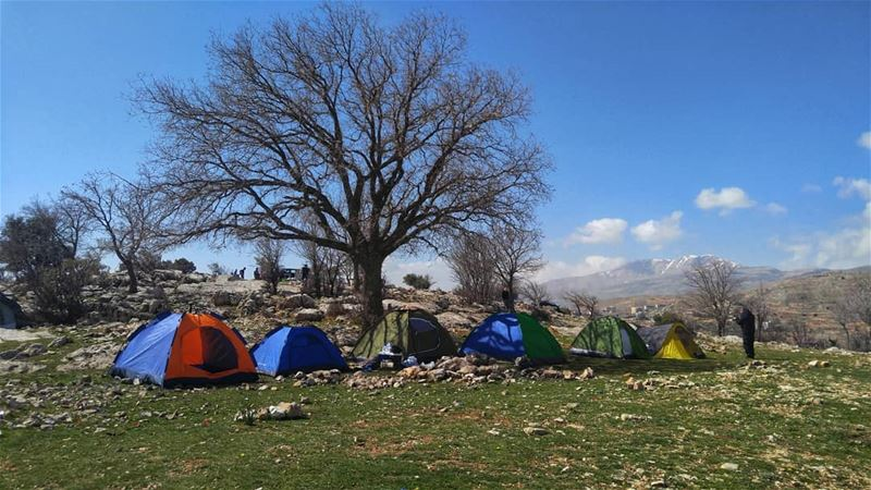 Time camping isn't spent, it's invested! (Zahlé, Lebanon)