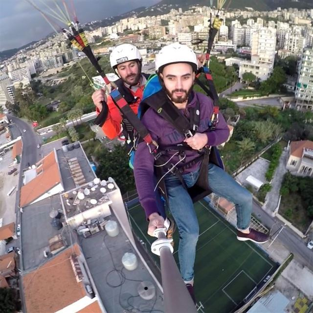 morningfly fly sky landing sport gopro becool paraglidinglebanon ...