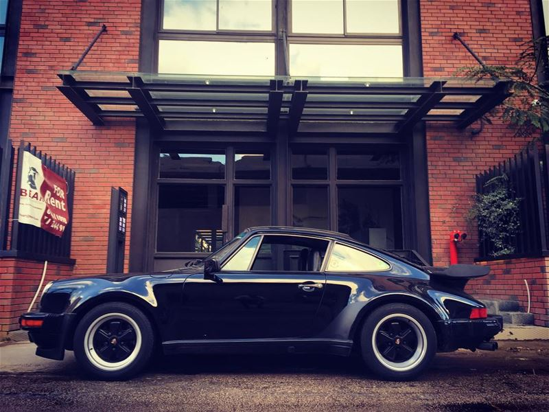 porsche turbo parked 930 911 factory4376 loft beirut lebanon ...