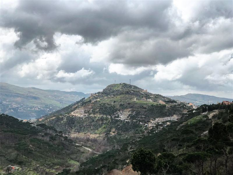 Weekends....... nature colors surreal landscape mountains ... (Chouf)