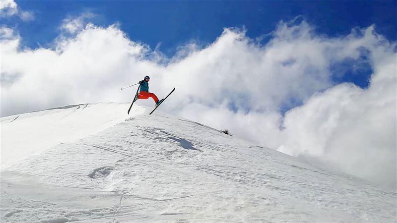 Last skiing day farayalovers lebanon lebanonlovers ... (Mzaar)