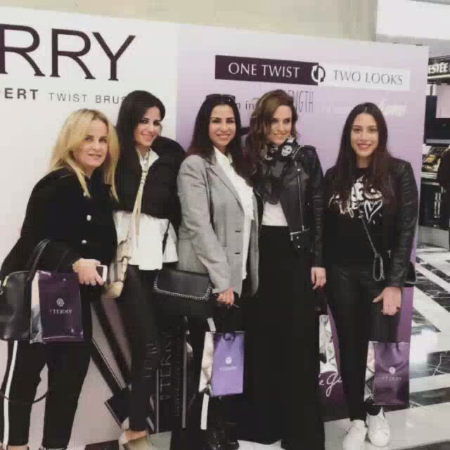 Launching of  byterrymascara  byterry  byterrymakeup  byterryofficial  ... (Aishti Foundation)
