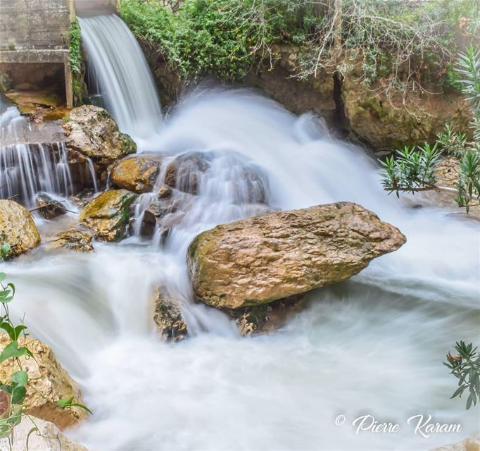 The power of water longexposure waterfall river ... hiking ...