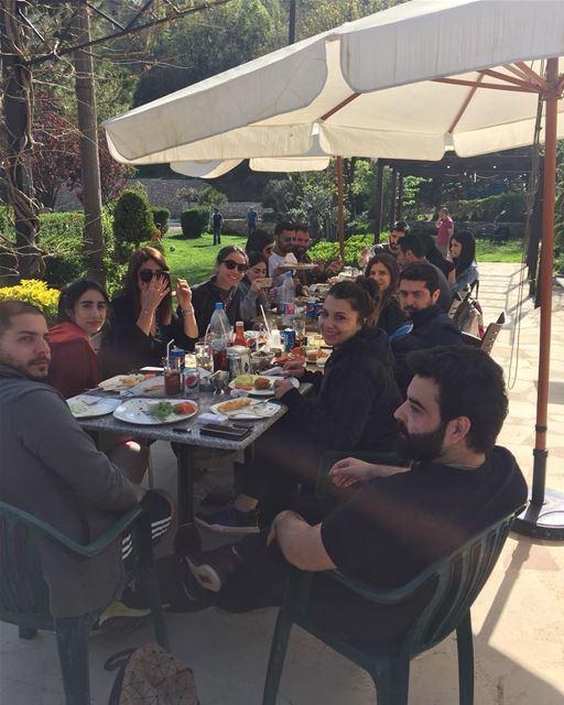 Our kinda mondays 💆🏻♀️💆🏻♂️ jalsat restaurant mayrouba faraya ... (Jalsat)