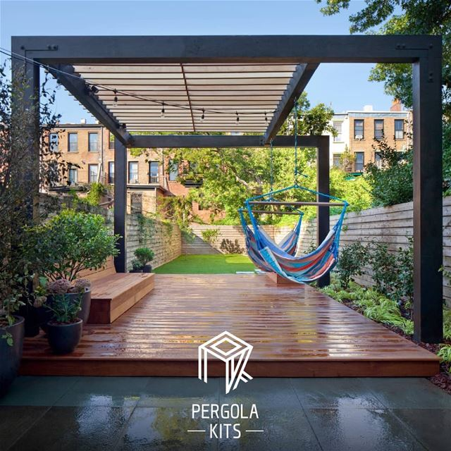 Enjoy The Outdoors. ChillingPlace PergolaKitsLebanon. Pergola ...