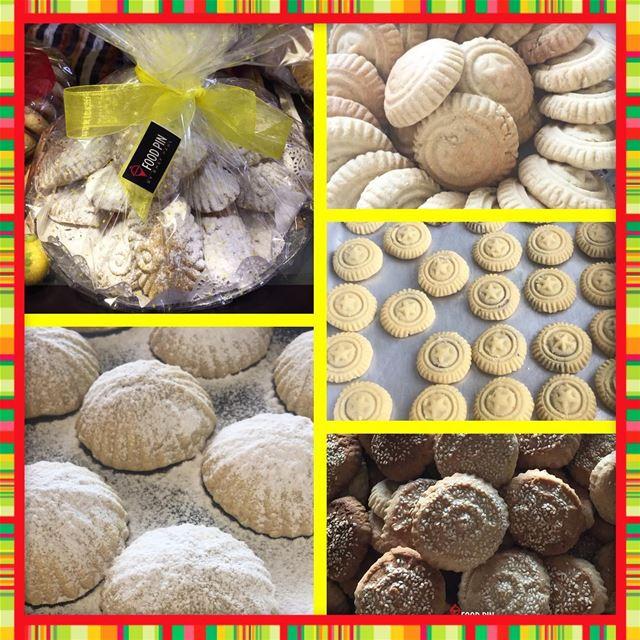freshly homemade كعك العيد معمول Dessert desserts dessertlover ... (Fanar, Mont-Liban, Lebanon)