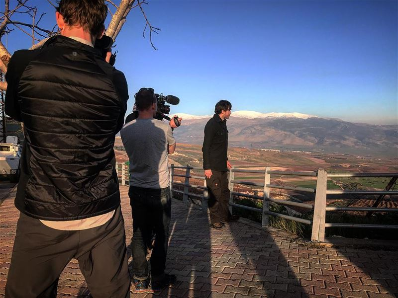 shooting  producer  production  documentary  bbc  simonreeve  lebanon ... (Lebanon Border)