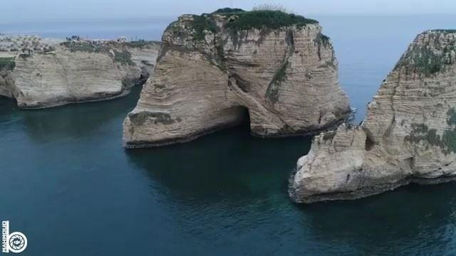 Raouche Rocks ❤️By @mahmoudb.90 Rawché Rawshe Beyrouth Beirut Liban ... (Raouche Rock , Beirut , Lebanon)