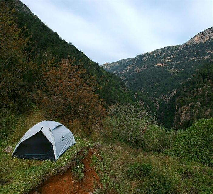 Good morning  lebanon  naturelovers  camping  weekend  outdoors  nature ...