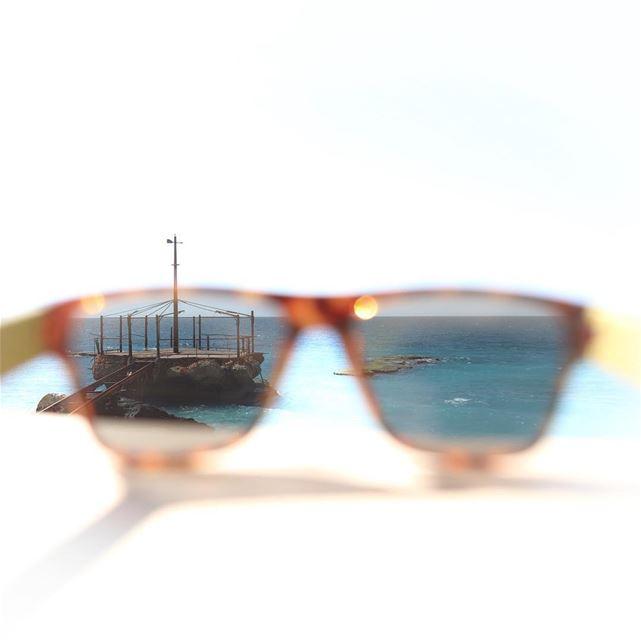 I Can Sea Summer Sea Sunglasses Beach Spring Summer Lebanon Batroun... (KAPTN Batroun)