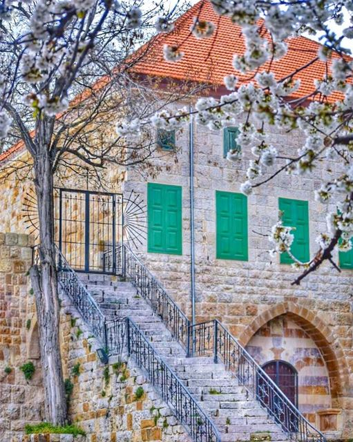Gratitude is the fairest blossom which springs from the soul - Henry Ward... (Ehden, Lebanon)