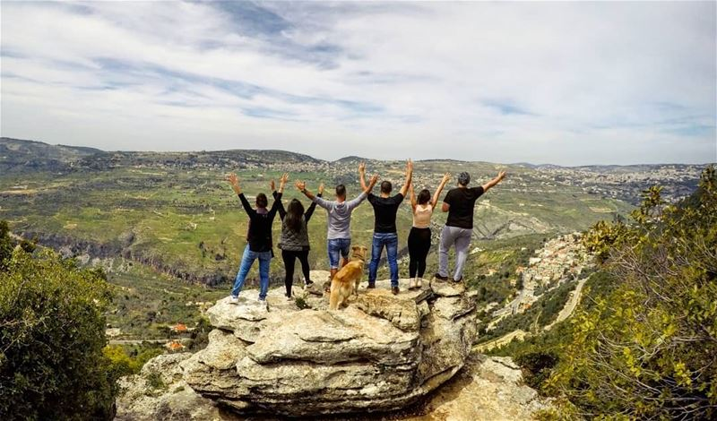 The View Is Always Beautiful From The Top FlyingRock Friends Chouf ... (Chouf)