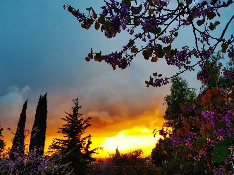 blessedweek ⛪ اسبوع_الالام ig_sunsetshots holyweek.......... (Ballouneh, Mont-Liban, Lebanon)
