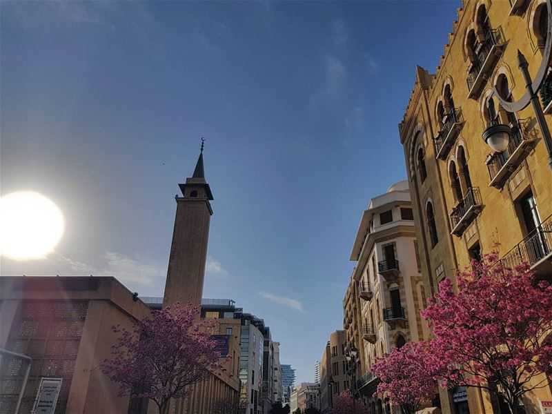 Its a beautiful day, happy easter!🐣• ptk_lebanon super_lebanon ... (Downtown Beirut)