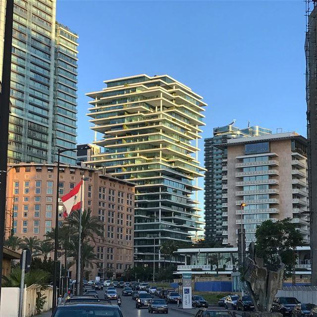 Beirut vibes 👍 lebanon skyline city love iphonephoto beautiful sky... (Beirut, Lebanon)
