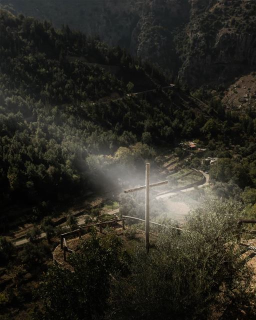 By His wounds We are healed ... Isaiah 53:5 ig_lebanon ... (Mar Lichaa Monastery)