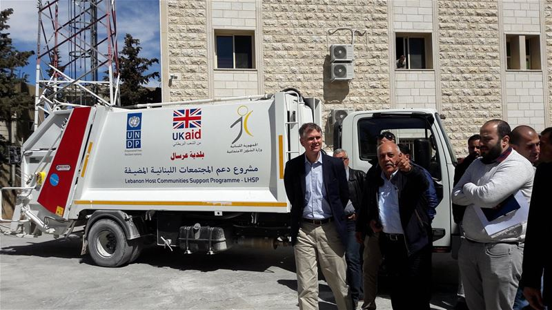 Ambassador @HugoShorter visited  Arsal for the first time last week to...