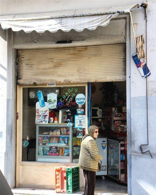 ☕ دكان بيروتي أصيل (Ain El Mreisse, Beyrouth, Lebanon)