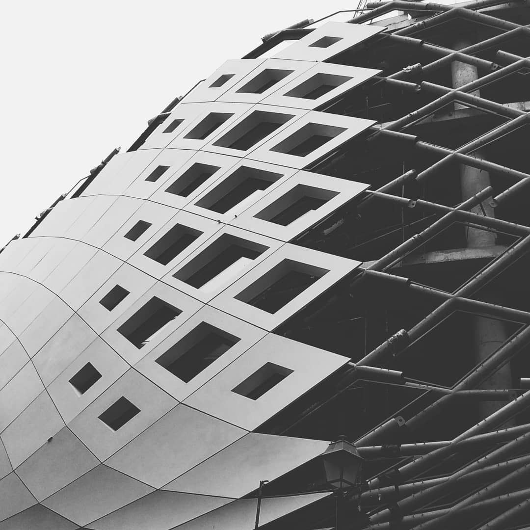 """""""We shape our buildings; thereafter they shape us"""".. jj_geometry zaha ... (Beirut Souks)"""