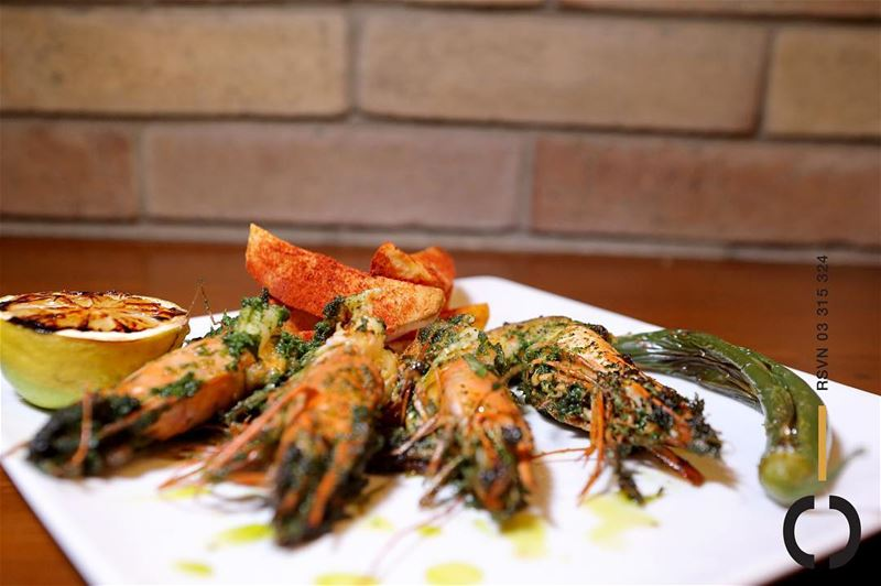 Marinated to excellence and cooked to perfection!Shrimp anyone? JackieO... (Jackieo)