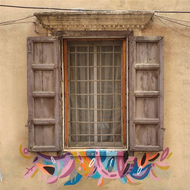 Happy window 🌈 (Beirut, Lebanon)
