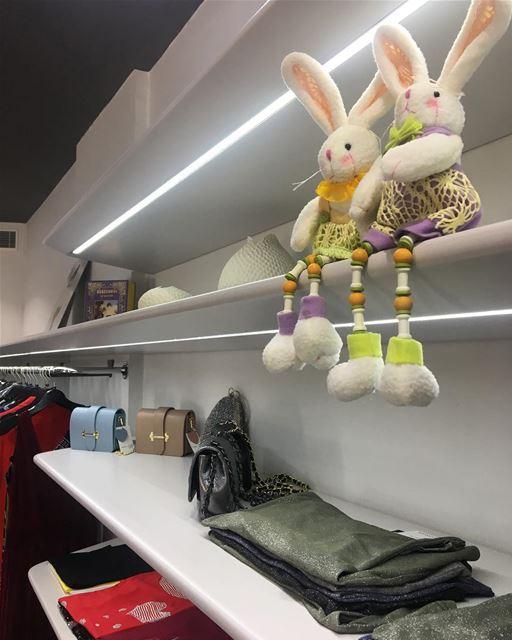 Easter Bunnies 🐰🐰DailySketchLook 275 shopping italian boutique ... (Er Râbié, Mont-Liban, Lebanon)