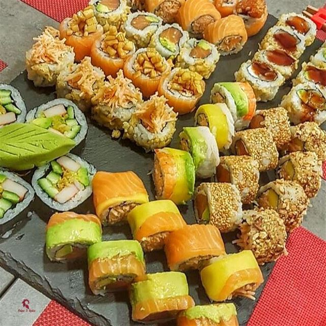 On a scale 1-10 how much are you craving sushi right now?😎. ============== (Baabda)