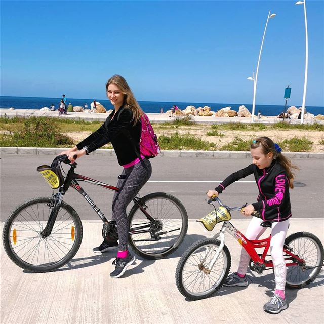 When in doubt, pedal it out! 🚲... lebanon  inlebanon  bicycle ... (Beirut By Bike)