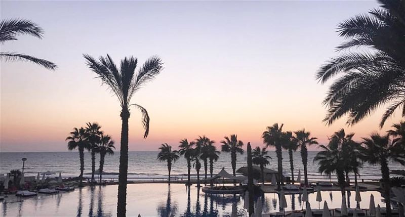 A beautiful Sunset mistaken for a Dawn.. You can have both soon.. 🌊🌴 (Pangea Beach Resort)