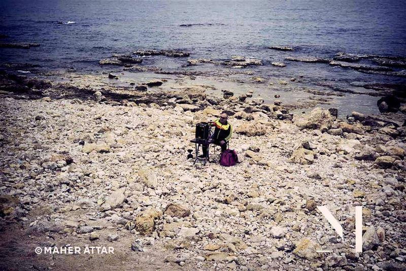 Beware of the sea, pass me the hookah .. lifestyle humansfromlebanon ... (Beirut, Lebanon)