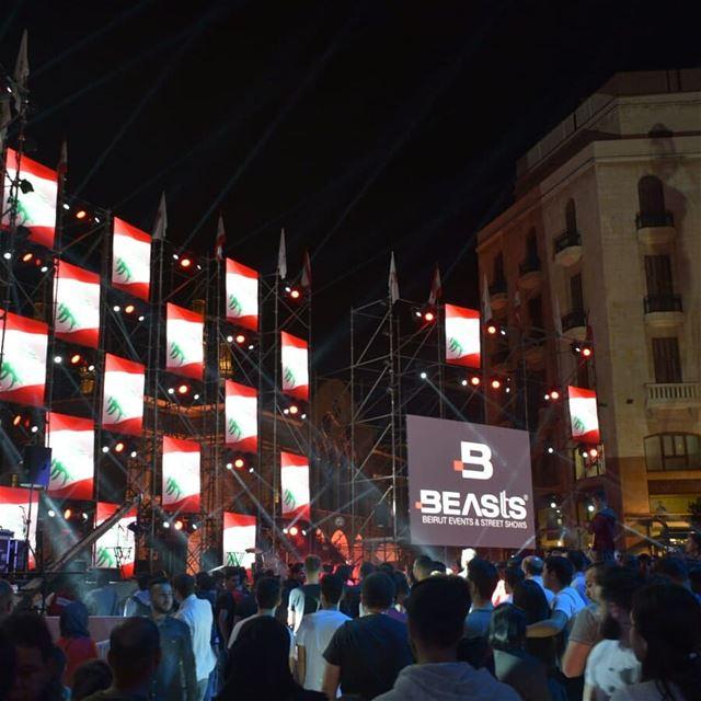 Don't forget to swipe 👉 بيروت_أم_الدنيا beasts beirutmunicipality... (Beirut, Lebanon)
