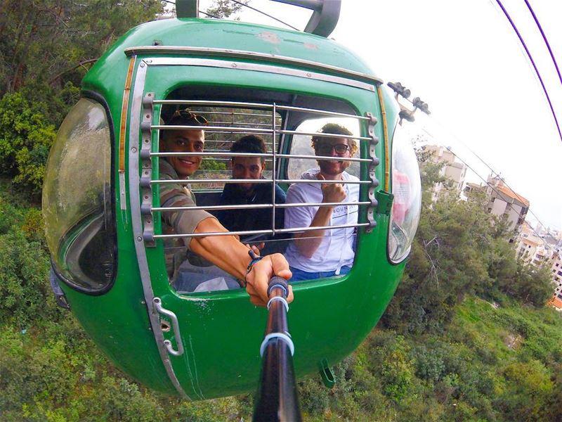 Into the jungles of Lebanon! 🌴🌲🌿 jounieh ... (Harîssa, Mont-Liban, Lebanon)
