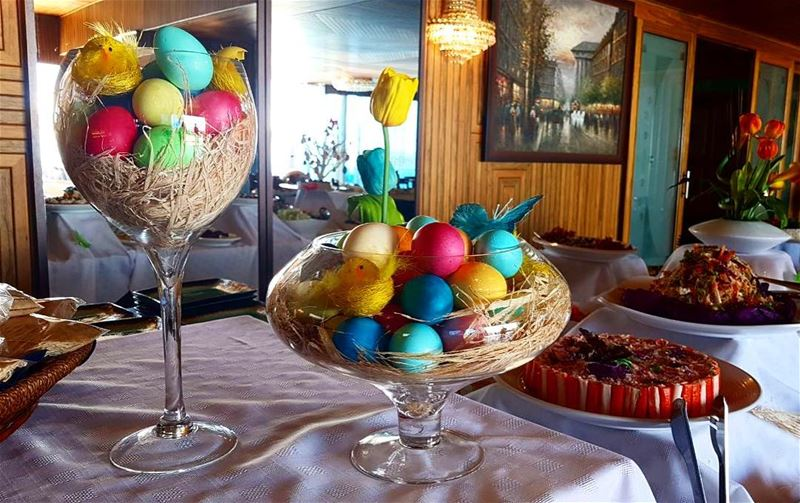 HappyEasterEveryone! 💙🐣 HappySunday lunchbuffet EasterLunch ... (The Terrace - Restaurant & Bar Lounge)