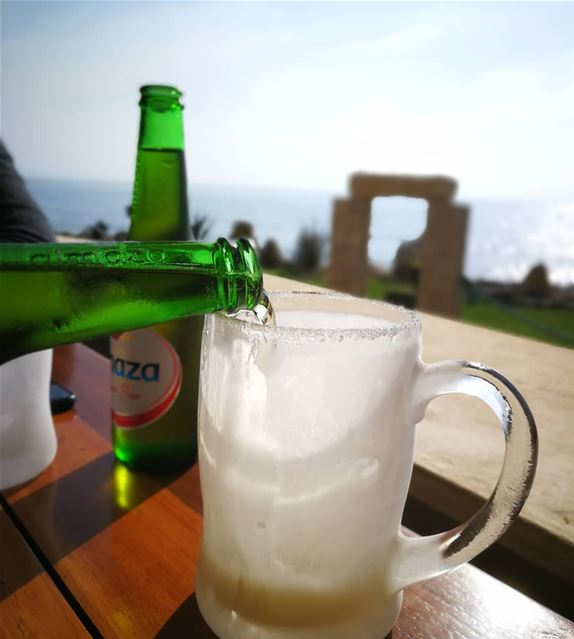 """Beauty is in the eye of the beer holder."" (Byblos, 3al Baher)"