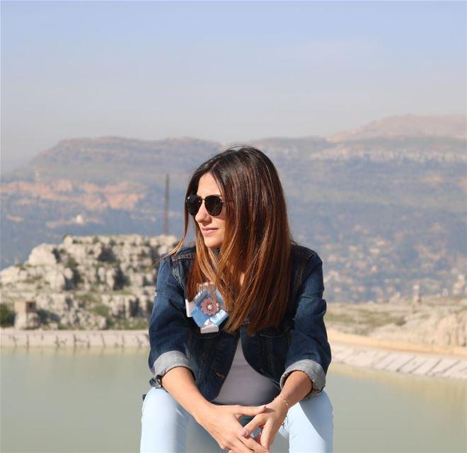 Indifference makes the difference 😎.......... lebanon zaarour... (Zaarour Lake)