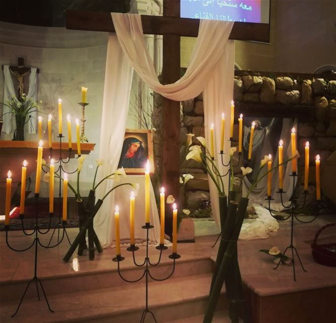 He is not here. He has  risen  happyeaster from @saint.anthony.fouwara ...
