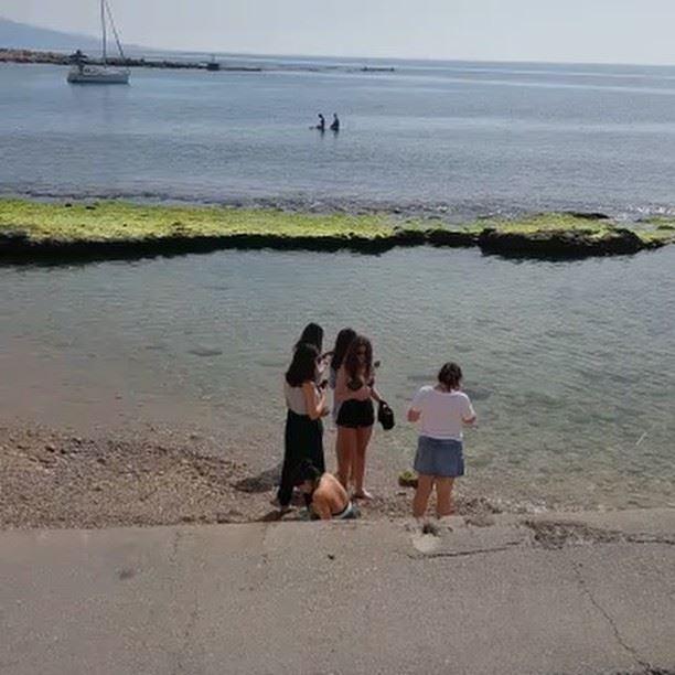 Monday at RAY's😃 lebanon batroun raysbatroun bahsa beach lebanese ... (RAY's Batroun)
