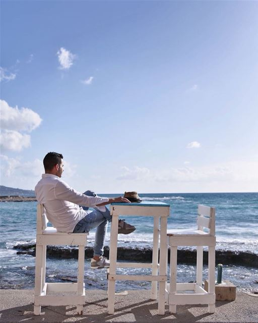Just relax ☺️Photo taken by @_shade_ 😃 lebanon batroun bahsa ... (RAY's Batroun)