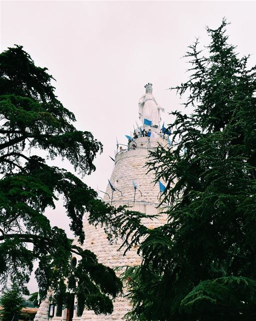 Let your faith be bigger than your... (Our Lady of Lebanon)