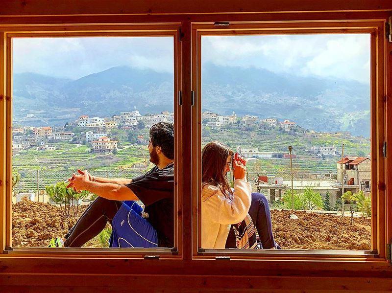 Catching a moment in a frame... make it two frames!...📸: @omran_gharib (Bâroûk, Mont-Liban, Lebanon)