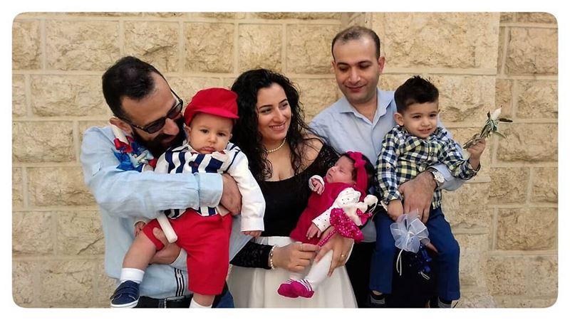 Babies everywhere... sunday beirut lebanon ... (All Saints Church International Congregation)