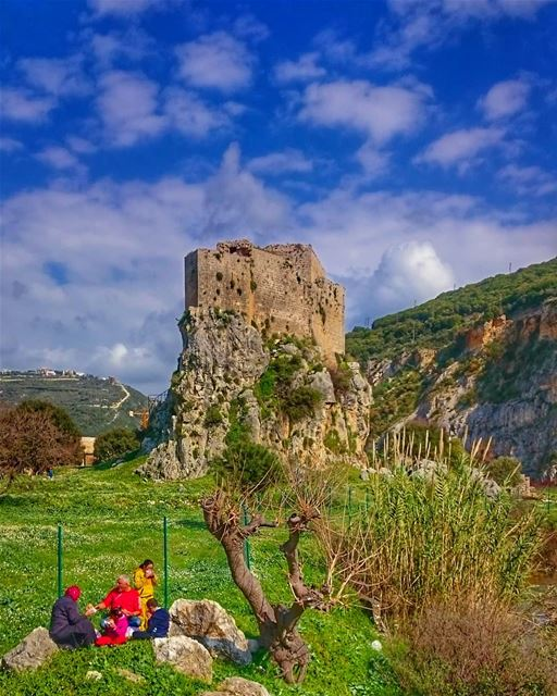If you truly love nature you will find beauty anywhere 💚 livelovebeirut... (Mseilha Fort)