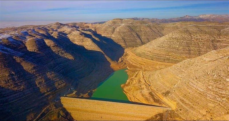 chabrouh dam lebanon faraya mountains sky djimavicpro dji ... (Ouâdi Chabroûh)