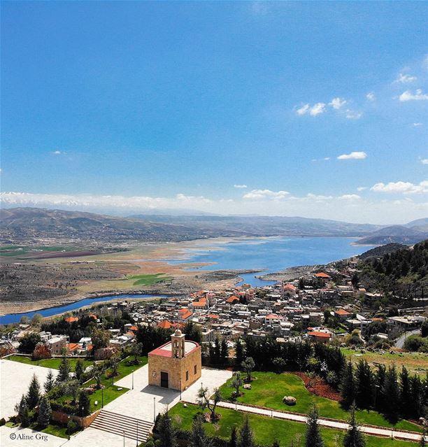 • t h e c h u r c h • luna_drone drone mavicair nature outdoor ... (Saghbîne, Béqaa, Lebanon)