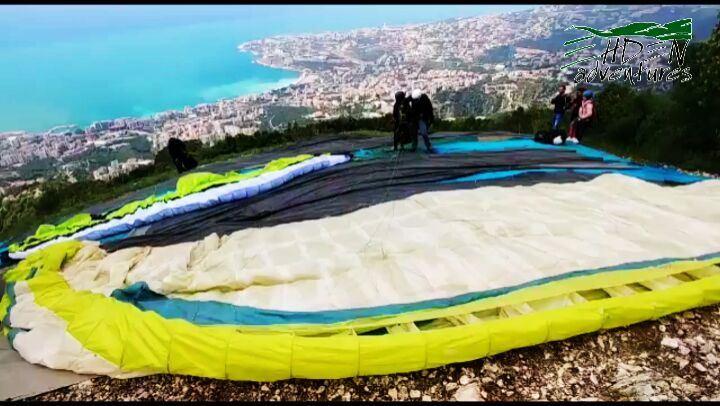 paragliding ehden harissa jounieh lebanon sky adventures ... (Lebanon)