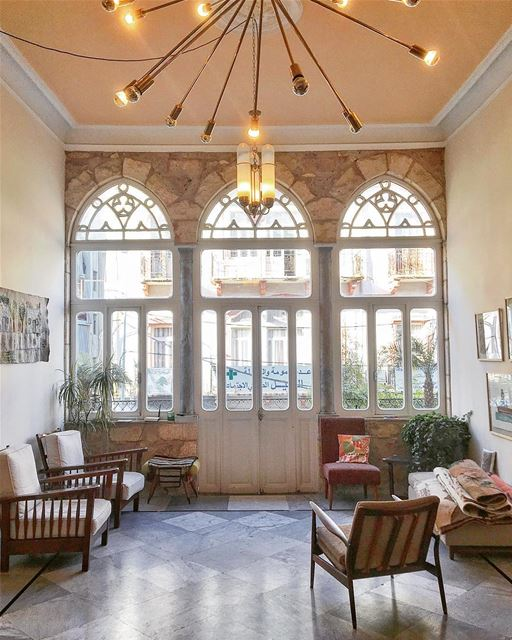 Early 1900's Mansion in Beirut • 🇱🇧 @beyt.lb ..... ... (Beirut, Lebanon)