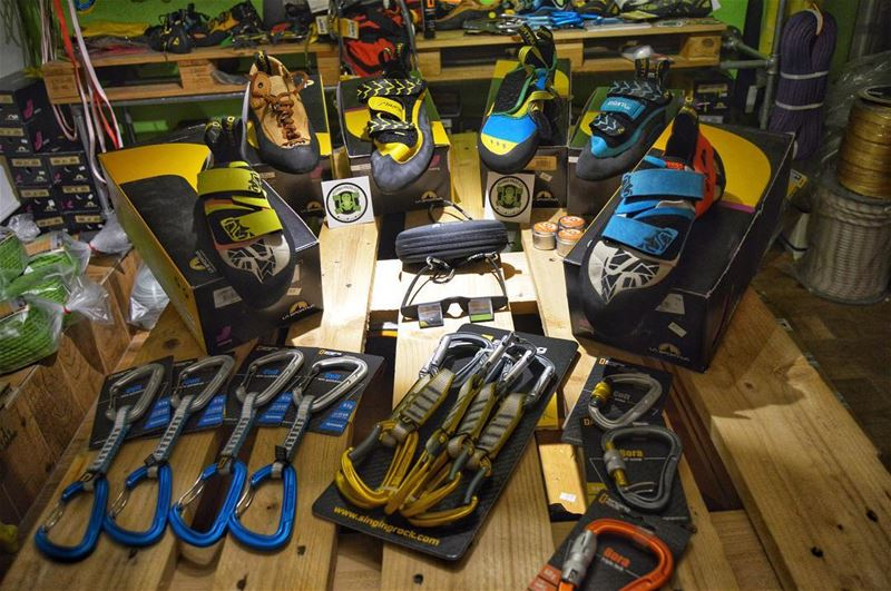 La Sportiva rock climbing shoes, or any climbing equipment you need, we've...