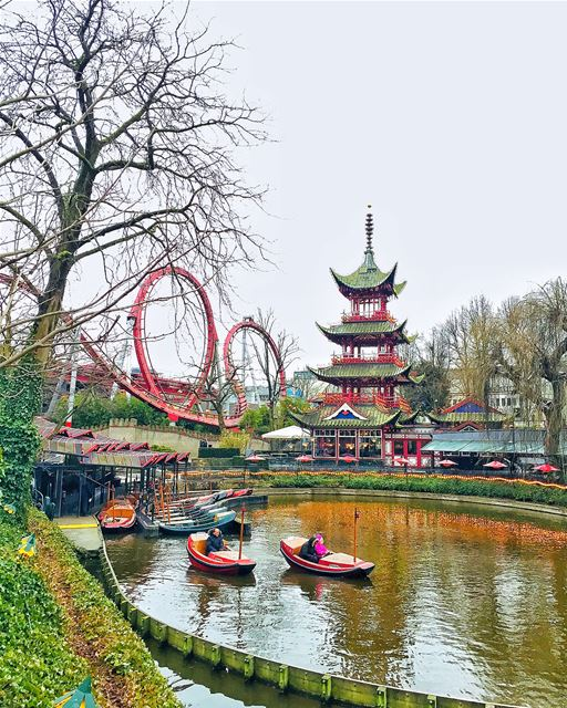 - Traduction Française ⤵️ - Swipe ⬅️➡️Tivoli Gardens the second oldest... (Tivoli)