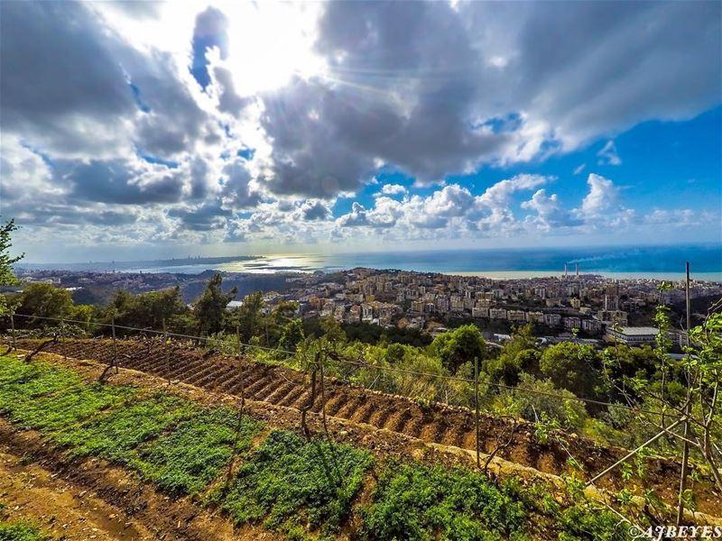 Lebanese sunset.... sunset lebanon mylebanon mediterranean keseruan ... (Lebanon)