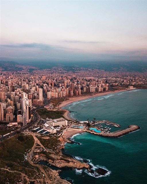 The beautiful coastline of Beirut is not something to be missed!... (Beirut, Lebanon)